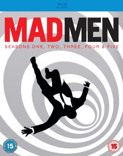 Mad Men, Seasons 1-5, Bluray