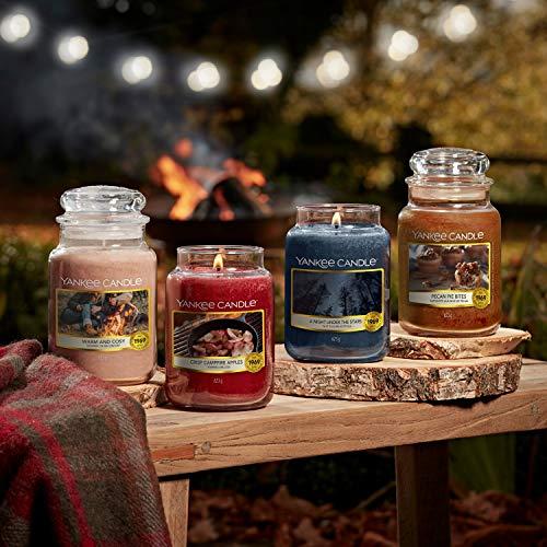 Yankee Candle candela profumata in giara grande   Calda & Accogliente   durata: fino a 150 ore