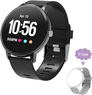 BingoFit Fitness Tracker Smart Watch, Epic Activity Tracker with Heart Rate Monitor, Waterproof Pedometer Watch with Sleep Monitor, Step Counter for Kids Women Men Gifts for New Years