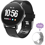 BingoFit Fitness Tracker Smart Watch, Epic Activity Tracker with Heart Rate Monitor, Waterproof...