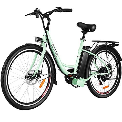 BIKFUN Bicicleta Electrica con Batería Extraíble 36V 15Ah, Bicicleta Eléctrica Adulto de...