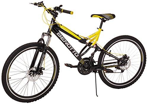 Benotto MDHNAV2621UNNE Bicicleta de Acero Rodada R26, Hombre, 21 Velocidades