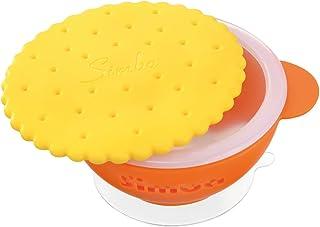 Simba Anti Scald Silicone Suction Bowl, Orange