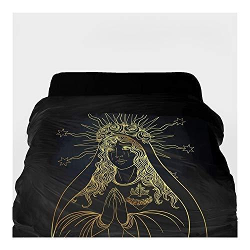 3D-Bettbezug Decke/Tröster Abdeckung 220x240 (Color : 27, Size : 155x215cm)