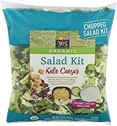 365 Everyday Value, Organic Salad Kit, Kale Caesar, 9.25 oz