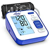 Blood Pressure Monitor for Upper Arm - Accurate Digital Automatic BP Monitor for Home Use with Large Display...