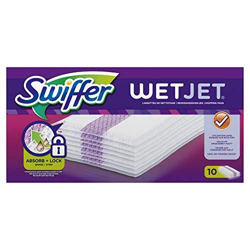 Swiffer Wetjet Besen Spray Refill Reinigungstücher für alle Böden 1x10 Stück