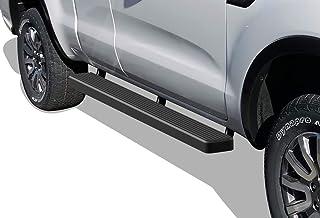 APS iBoard Running Boards (Nerf Bars Side Steps Step Bars) Compatible with Ford Ranger 2019-2021 Super Cab 2-Door (Black P...