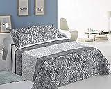 ForenTex Colchas Boras Cama 150 Reversible Decorativa Estampado con Relleno Ligero para Verano y Entretiempo, 250 x 260 cm, 3