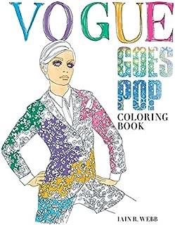Vogue Goes Pop: Coloring Book
