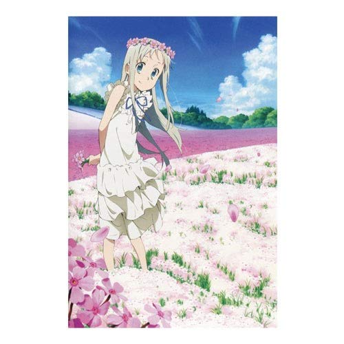 Ybjsy Puzzle en Bois Anime Character Honma Meiko Beautiful...