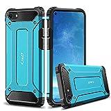 J&D Compatible para Apple iPhone SE 2020/iPhone 7/iPhone 8 Funda, Protección Pesada [Armadura Delgada] [Doble Capa] Híbrida Resistente Funda Protectora y Robusta para iPhone SE (Release in 2020)
