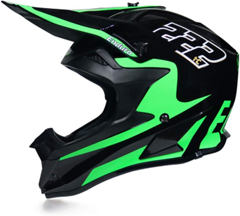 Lanbinxiang@ Motocross Safety Helmet Mountain Racing Downhill Full Helmet Motorcycle Venue Racing Helmet Predection