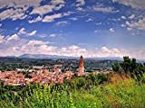 1000 Piece Wooden Jigsaw Puzzle Town of Castellon De La Plana Spain Large Puzzle Game For Adults and...