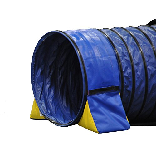 Cool Runners Tunnel Hugging Non Constricting PVC Dog Agility Tunnel Bag Set