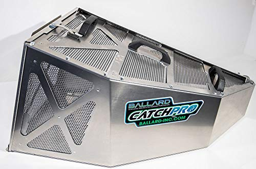 CatchPro – Aluminum & Stainless Grass Bagger/Catcher 4.1 Cu Ft -This Model is for: Gravely – ZTXL, ZTX, Pro Turn, Pro Stance, Compact Pro, ZTHD