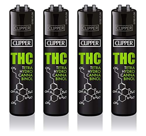 Clipper® Feuerzeug - Edition THC MOLECULE