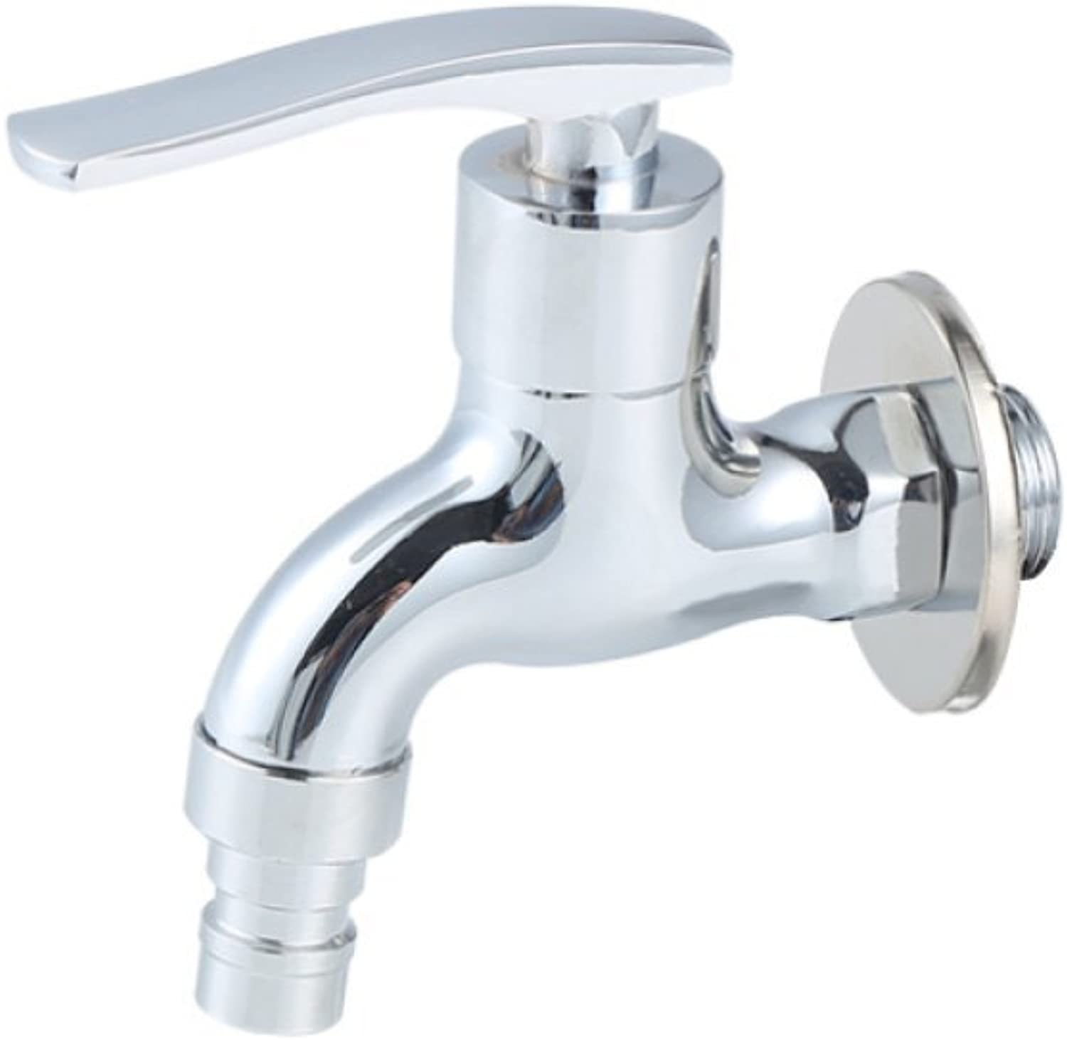 HH faucet hot cold copper toilet washbasin faucet bathroom fitting metal kitchen wall-mounted tap mixing faucet single-unit