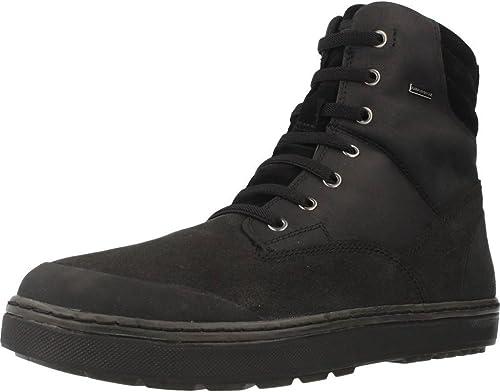 Stiefel para Hombre, Farbe schwarz, Marca GEOX, Modelo Stiefel para Hombre GEOX U Mattias B ABX D schwarz