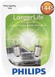 Philips 1445 LongerLife Miniature Bulb, 2 Pack