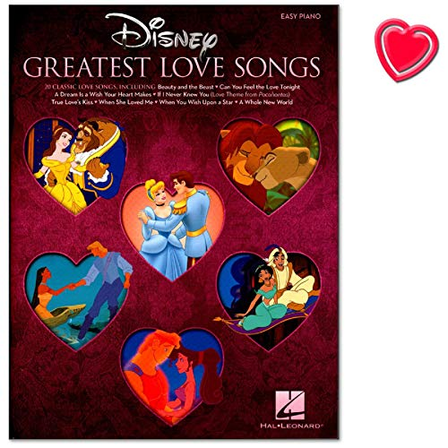 Disney's Songs für Klavier - Reihe Easy Piano