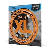 D'Addario EXL110BT Saiten Satz E-Gitarre 010 - 046 Regular Light Balanced Tension
