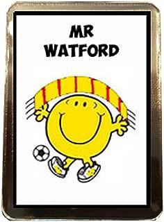 Watford F.C - Mr Football Fridge Magnet