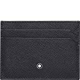 Montblanc Sartorial Pocket 5CC Men's Small Leather Card Holder 116337