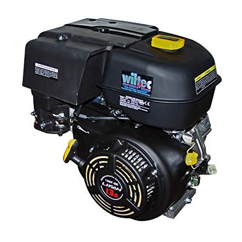 buenos comparativa Motor de gasolina WilTec LIFAN188 9.5kW (13CV) con motor en baño de aceite de embrague húmedo … y opiniones de 2021