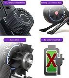 LeeBZ Rudergerät, zusammenklappbar, für den Innenbereich, geräuschlos, magnetisch, Verstellbarer Widerstand, Fitness-Rower für zu Hause - 4