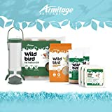 Armitage Complete Winter Wild Bird Food Bundle - with Bird Feeder - wild Bird Seed - Includes Fat Balls - Fat and Protein for Wild Birds