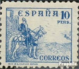 Spain 780II (complete.issue.) great point value 1937 El Cid (Stamps for collectors) Horses