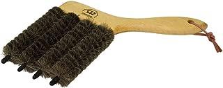 Redecker Dark Goat Hair - 4 In One - Venetian Blind Brush with Oiled Beechwood Handle, 4-3/4-Inches
