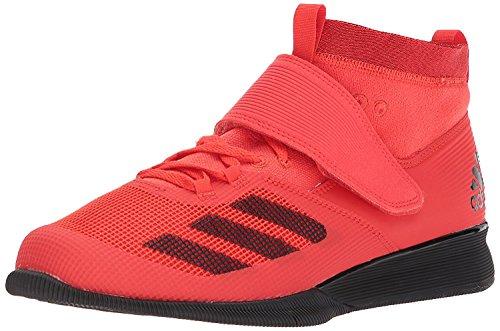 Adidas Hombres Crazy Power RK Bajos & Medios Cordon Zapatos para Correr, Hi-Res Red/Black/Scarlet, Talla 13