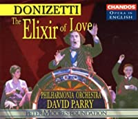 Donizetti - The Elixir of Love / Banks 路 Plazas 路 Holland 路 Shore 路 H. Williams 路 PO 路 Parry [in English] (1999-10-19)