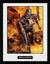 GB eye Terminator 2, Comic 4, 16x12 Framed Photograph, Various