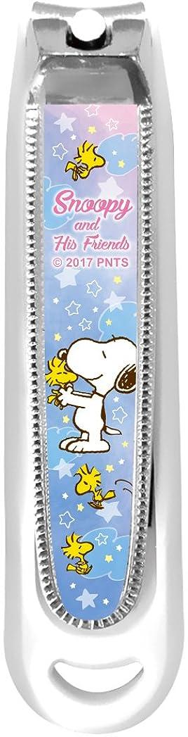 ワイプみがきます主張ティーズ 爪切り スヌーピー 星空 SN-5537021HZ