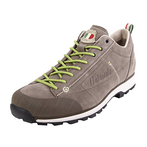 Dolomite Unisex Zapato Cinquantaquattro Low ZINQUANTAQUATTRO NIEDRIGER Schuh, Braun Schlamm Grün, 38 2/3 EU