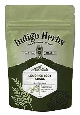 Indigo Herbs Liquorice Root Sticks 50g