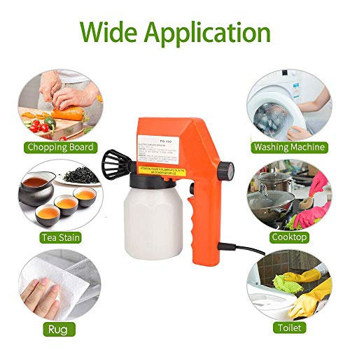 K99 Pintura eléctrica pulverizador, 220 hogares de Alta Potencia Handheld de la...