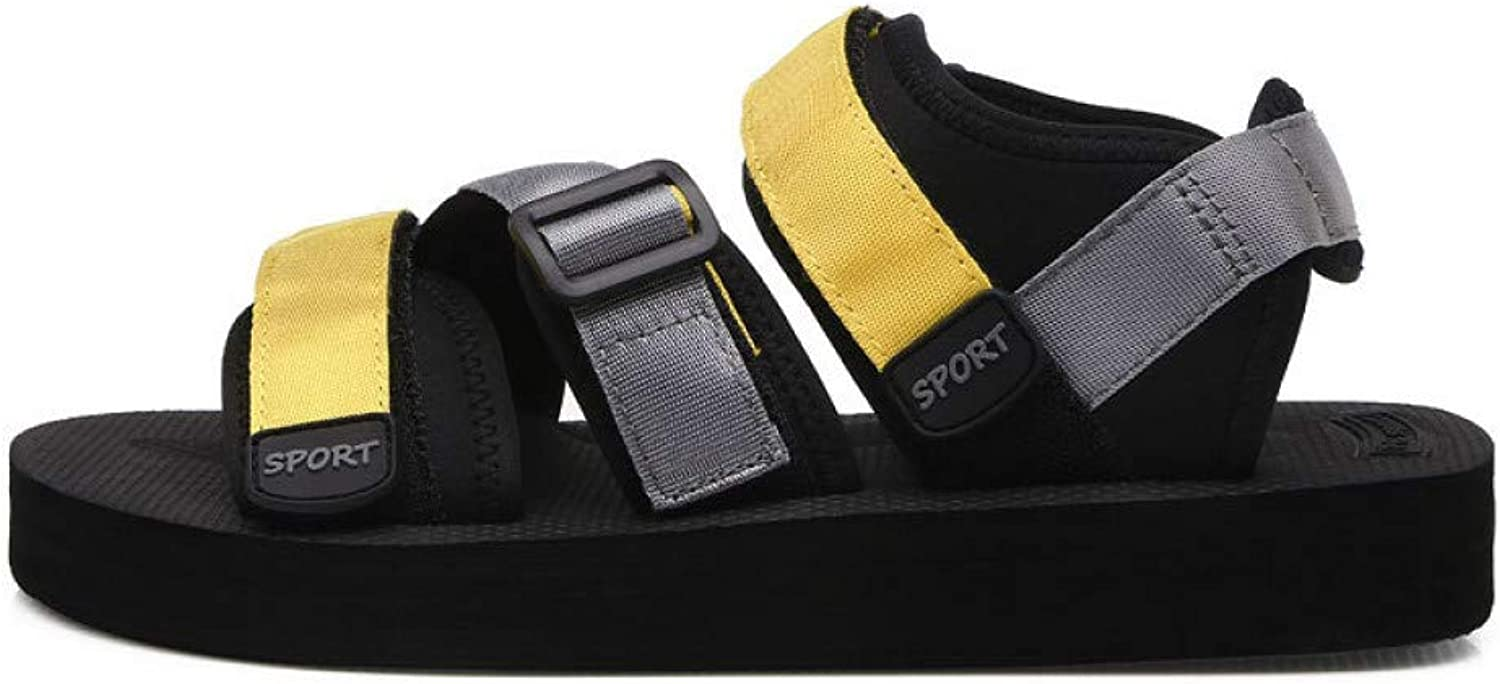 GJLIANGXIE Men'S Sandals Summer Men'S Sandals New Trend Vietnam Large Size Men'S Beach shoes Students Outdoor Casual Sports Sandals