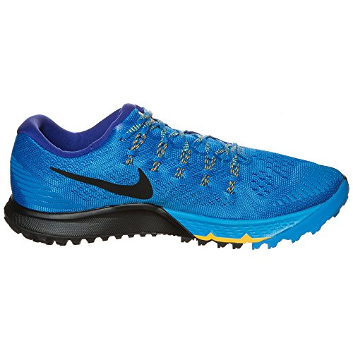 Nike Air Zoom Terra Kiger 3 Mens Running Shoes (11, PHOTO BLUE/BLK-CNCRD-LSR ORNG)