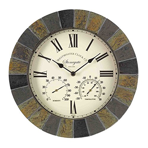 Outside In Designs 5065031 - Reloj + termometro stongate