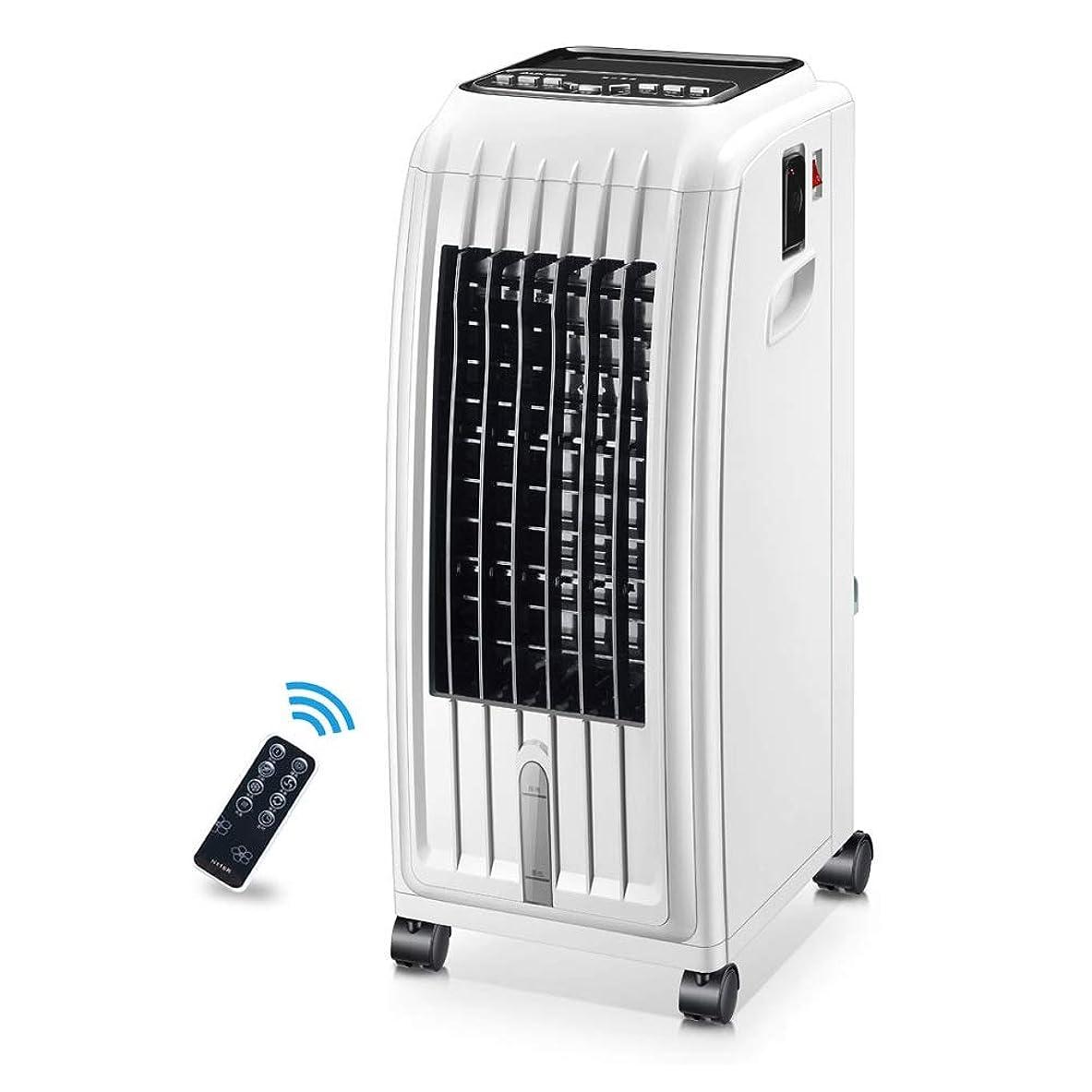 ピーブ大陸にLPD-冷風機 夏冷房ファン暖房?冷房兼用モバイルエアコンフロアスタンド加湿浄化用冷蔵庫