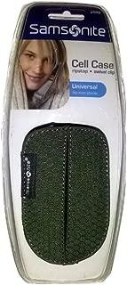 Samsonite Ripstop Swivel Clip Cell Phone Case Hunter Green