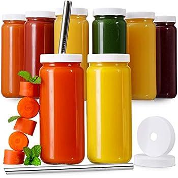 juice jars with lids