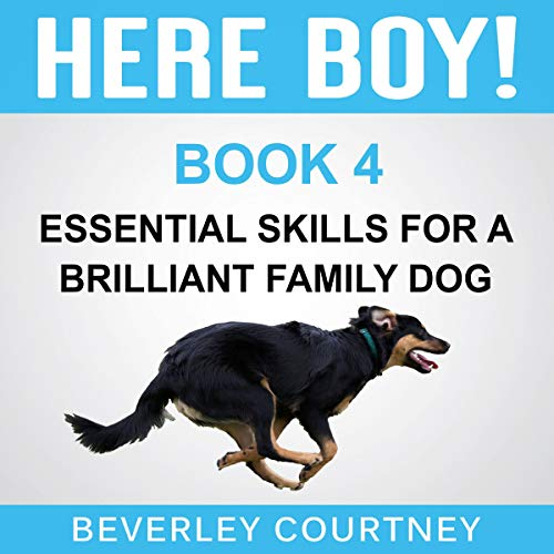『Here Boy!: Step-By-Step to A Stunning Recall from Your Brilliant Family Dog』のカバーアート