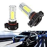 KATUR 2pcs 5202 Fog Light LED Bulbs 5201 Headlight LED Lamp 7.5W PSX24W Cree LED DRL Car Light Source 12V 6000K