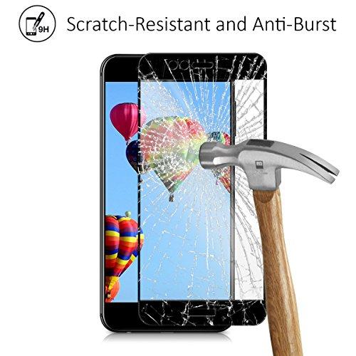 kalibri Huawei Nova 2 Plus Folie - 3D Glas Handy Schutzfolie für Huawei Nova 2 Plus - Auch für gewölbtes Display - 2