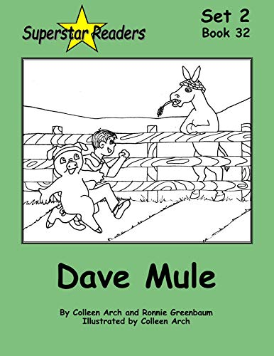 32. Dave Mule: Set 2 Long Vowel ū and ē  phonetic books, introducing the magic key that changes the sound of a vowel! (Superstar Readers Set 2) (English Edition)
